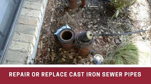 Decide Between Repairing Or Replacing Cast Iron Sewer Pipes