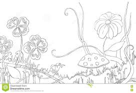 Coloring Pages Grass At Meadow - creativemove.me