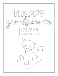 Coloring Download Grandparents Day Coloring Pages Free