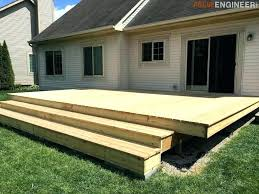 ground level deck plans how to build a ground level deck with deck blocks floating deck plans rogue engineer ground level deck plans nz