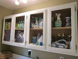 Wire Mesh For Cabinets Laundry Room Before And After Domestic Imperfection