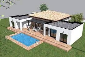 plan de maison moderne plain pied template 5