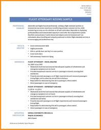 Laundry Attendant Resume Sample Resume Samples For Flight Attendant Position Free Resumes Tips 19