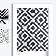 full image for black and white damask kitchen curtains black and white kitchen cafe curtains black