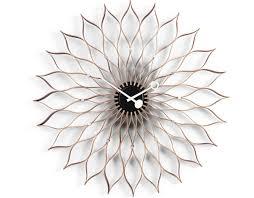 george nelson sunflower clock  hivemoderncom