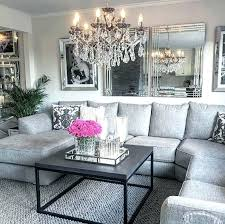 modern chic decor pretty gray living room decor modern glam by home by more  modern country