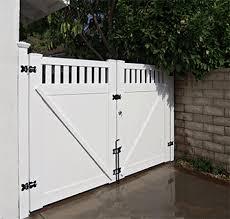 Vinyl fence double gate Removable Post Custom Vinyl Driveway Gates Los Angeles Ca Buy Gates Simi Valley San Fernando Valley Gate Manufacturer Pinterest Custom Vinyl Driveway Gates Los Angeles Ca Buy Gates Simi Valley
