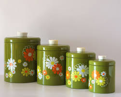Retro Kitchen Canisters Ideas About Red Canisters On Pinterest Kitchen Canisters Canisters