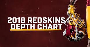 Redskins Depth Chart 2018