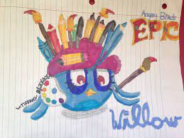 Fan Art: Willow from Stella Makes His Way to Angry Birds Epic | Angry birds  stella, Angry birds, Birds