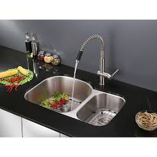 ruvati sink reviews unique ruvati rvf1218st modern pullout kitchen faucet stainless steel of ruvati sink