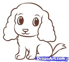 dog drawing easy. Unique Dog Easydrawingtutorials  How To Draw An Easy Dinosaur Step By Step  Dinosaurs Animals FREE  Throughout Dog Drawing A