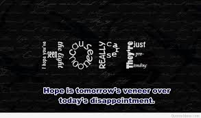 Quotes Of Hope Cool Best Hope Quotes