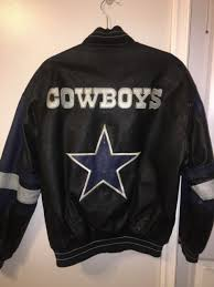 vintage 90s carl banks dallas cowboys genuine leather letterman varsity jacket