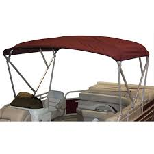 complete pontoon boat bimini top cover