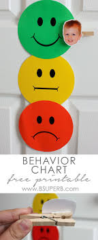 Toddler Behavior Chart Generic School Ideas Behavior
