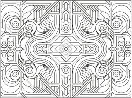Small Picture Geometric Designs Coloring Book Coloring Coloring Pages