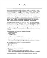 Interview Summary Examples Pdf Examples