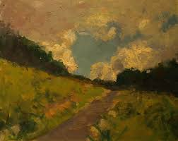 Clouds Above the Hill | Susan Grisell Fine Art