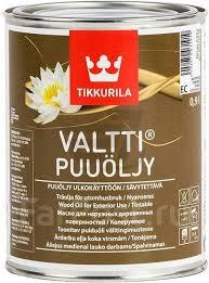 <b>Масло</b> для дерева Tikkurila <b>Valtti Puuoljy EC</b> 0.9 л (Тиккурила ...