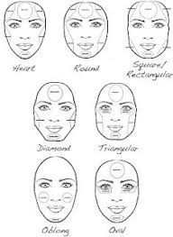 pin drawn makeup face shape 3