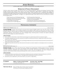 Sales And Marketing Manager Resumes Marketing Manager Resume Sample Sales Marketing Manager Resume