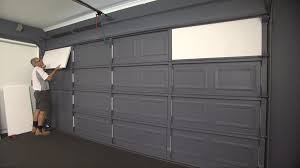 not only will insulating your garage door with thermadoor garage door insulation make it run much more quietly it will also provide a reduction in noise