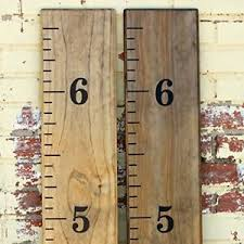 Details About Growth Chart Ruler Decal Kit Diy Vinyl Kids Children Home Decor Wall Measure New