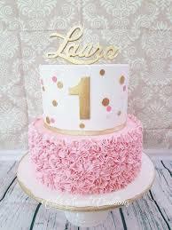 Baby Girl Birthday Cake 1 Year Freshbirthdaycakeml