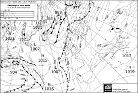 Surface Analysis Chart From Uk Meteorological Office For 28