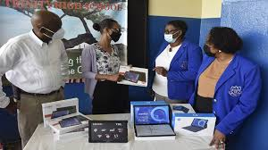 PwC Jamaica donates 40 tablets to Holy Trinity High | Loop News