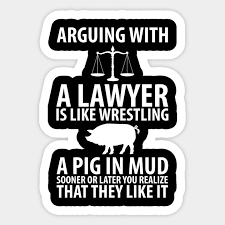 Image result for mud wrestling pigs attorneys like it