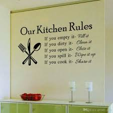 new hot diy kitchen rules quote wall sticker creative decals decal home household decor stickers words  on vinyl wall art quotes for kitchen with new hot diy kitchen rules quote wall sticker creative decals decal
