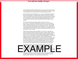 whose reality essays vce whose reality essays homework help whose  vce whose reality essays homework helpvce whose reality essays this short independently prepared tutorial video aims