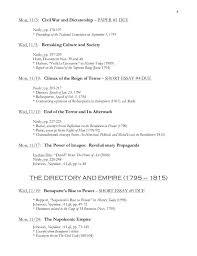 french revolution and napoleon syllabus 1792 4