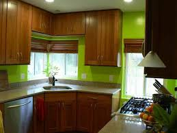 warm paint color ideas for kitchen with oak cabinets