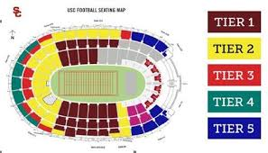 True To Life Usc Football Seating Chart 2019