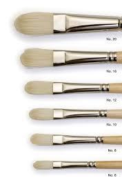 tip shapes brush sizes flat brushes pig hair hair types