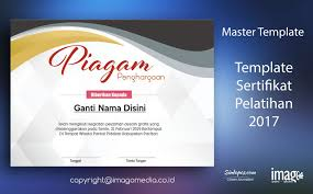 Sertifikat Pelatihan Download Template Sertifikat Pelatihan 2017 Imago Media