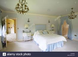Large Master Bedroom Master Bedroom Of Large Home With Dressing Room And En Suite Stock