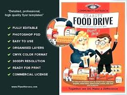 Food Drive Flyers Templates Flyer Templates For Toy Drive Template Free Inside Beautiful