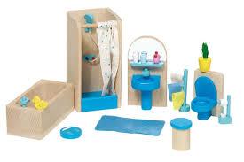 Goki 51904 mobili per casa delle bambole salotto 24 pezzi
