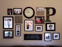 Inspirations Decorating Ideas For Picture Frames Wall Collage DIY DECOR  COUNTRY
