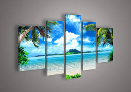5 panel wall art seascape blue ocean picture sea oil painting no framed welcome you to arrive my store hoped i can give you to be supposed better the  on framed blue wall art set with 2018 5 panel wall art seascape blue ocean picture sea oil painting