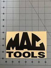 mac tools logo. mac tools logo matte black decal sticker 7.0