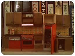 Kitchen Dollhouse Furniture Eloise Moorehead So Two Boxes Of Vintage Dollhouse Furniture Fell