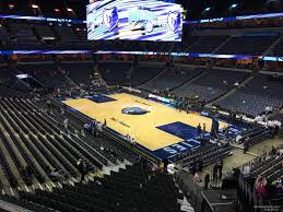 Fedexforum Seating Chart Memphis Tigers Fedex Forum Section 116a Memphis Grizzlies Rateyourseats Com