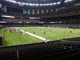 New Orleans Mercedes Benz Superdome Seating Chart Mercedes Benz Superdome View From Plaza Level 104 Vivid Seats