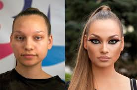 makeup before and after 02