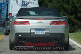 Spyshots: 2014 Chevrolet Camaro SS Convertible Spotted - Chevy SS ...